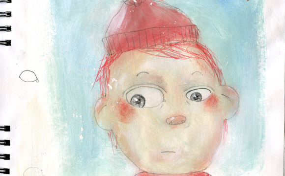 Sketchbook Tuesday – boy in toque
