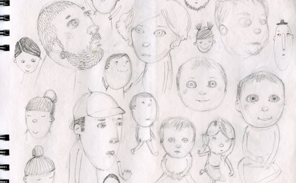 Sketchbook Tuesday – faces