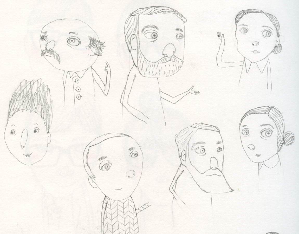 Characters-sketch
