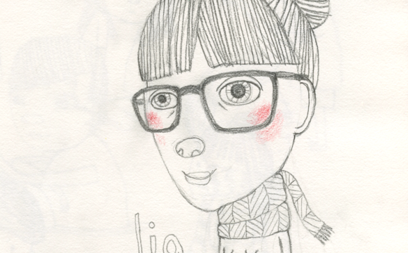 Sketchbook Tuesday – Lia with Likeness (Finally)