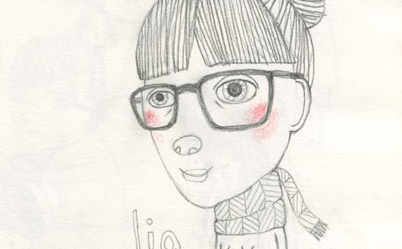 Sketchbook Tuesday – Lia with Likeness (Finally)