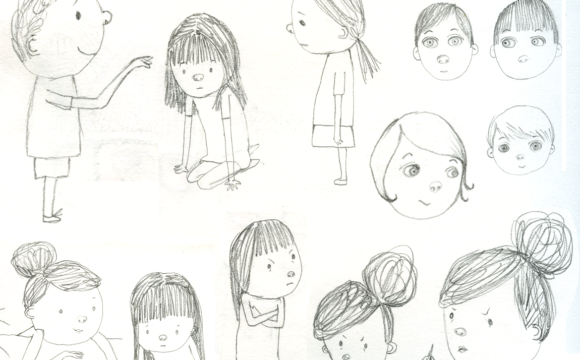 Sketchbook Tuesday – More Assorted Characters