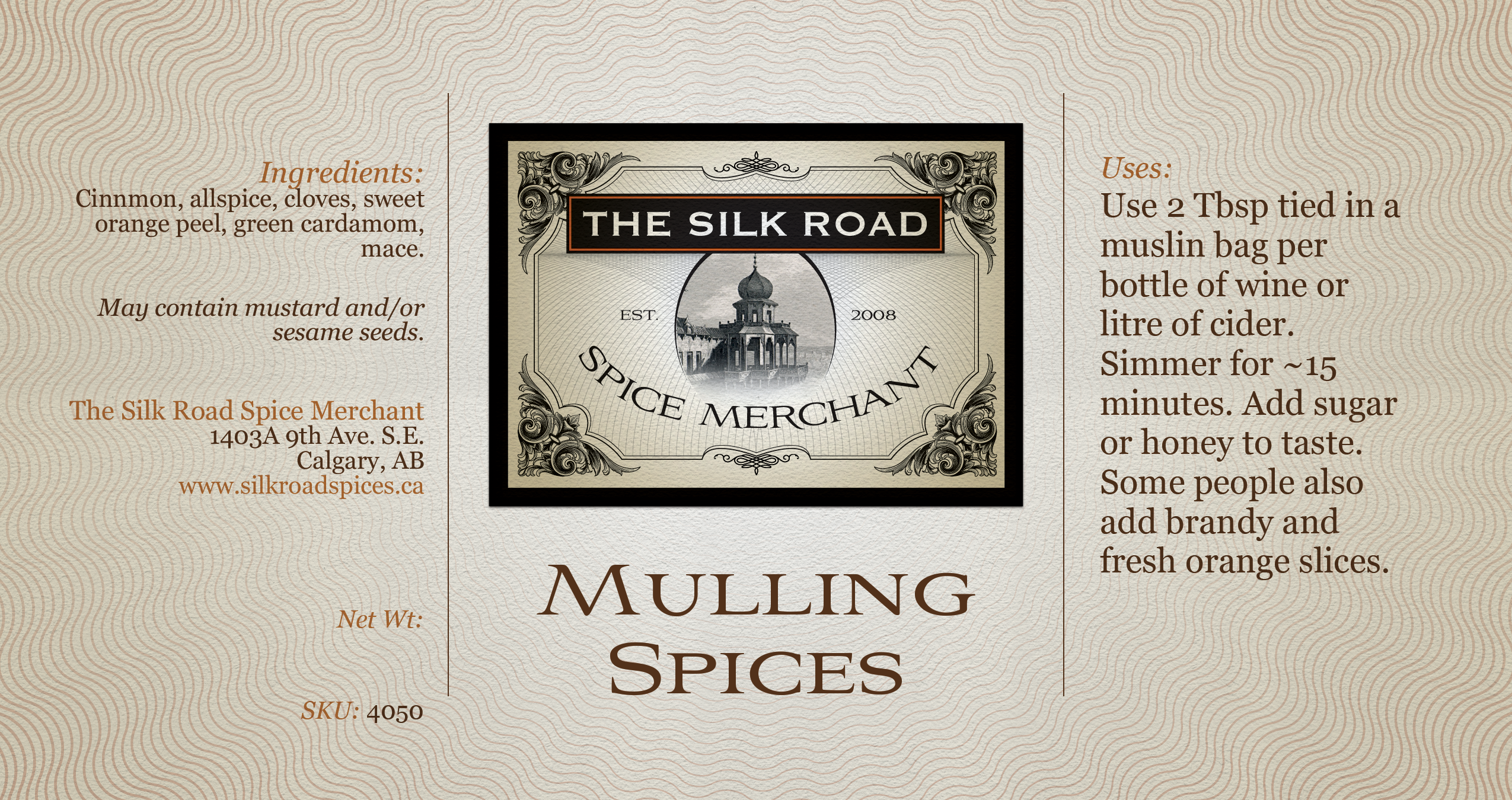 Mulling-Spices-Label