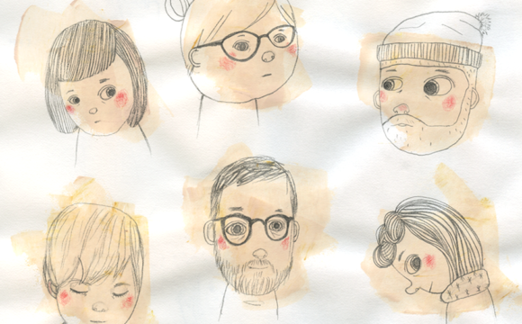 Sketchbook Tuesday: Assorted Faces