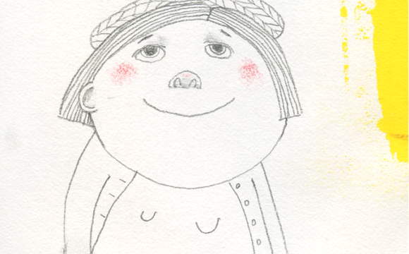 Sketchbook Tuesday: Girl in Beret