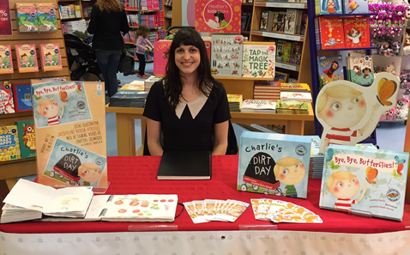 Last Weekend's Book Signing
