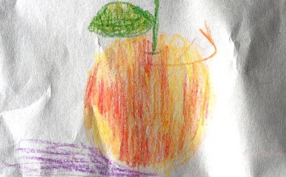 Sketchbook Tuesday: Peach