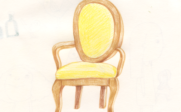 Sketchbook Tuesday: Grandma's Chair