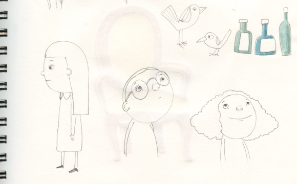 Sketchbook Tuesday: possible characters for a new project?