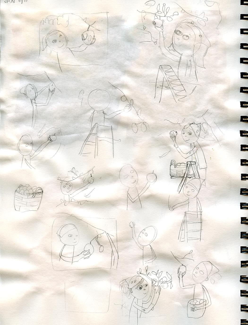 ladybug-Sketches