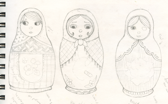 Matryoshka Sketches
