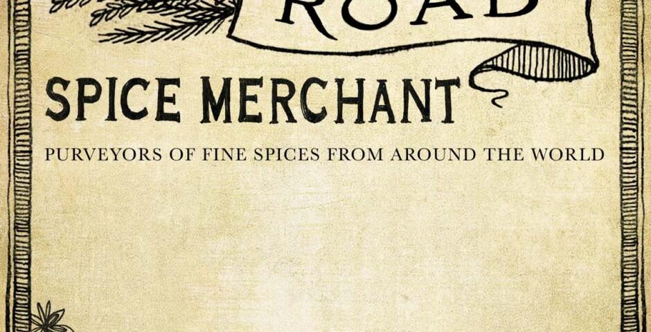 Illustration, lettering & design for label - Silk Road Spice Merchant